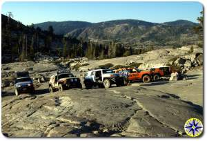 the slab rubicon trail fj cruisers
