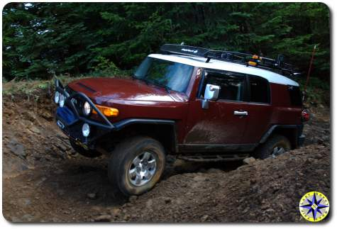 marron fJ cruiser hogs back