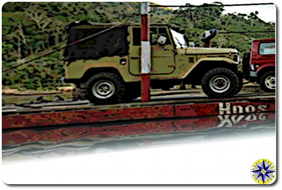 bolivian top gear toyota fj40