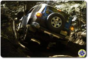fj cruiser 4x4 trail woody mystical