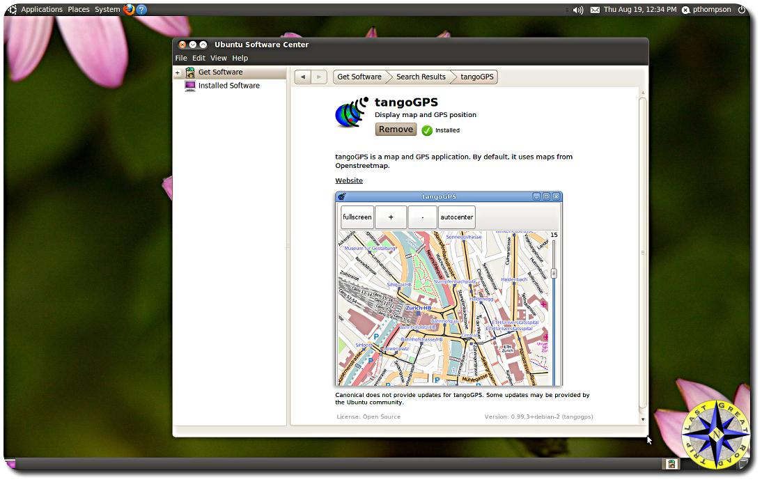 Tango software Install