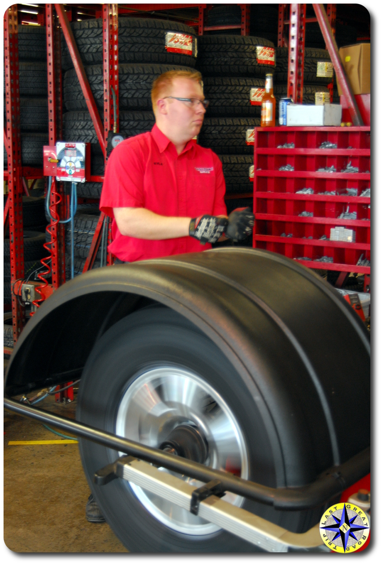 discount tire spin balancing