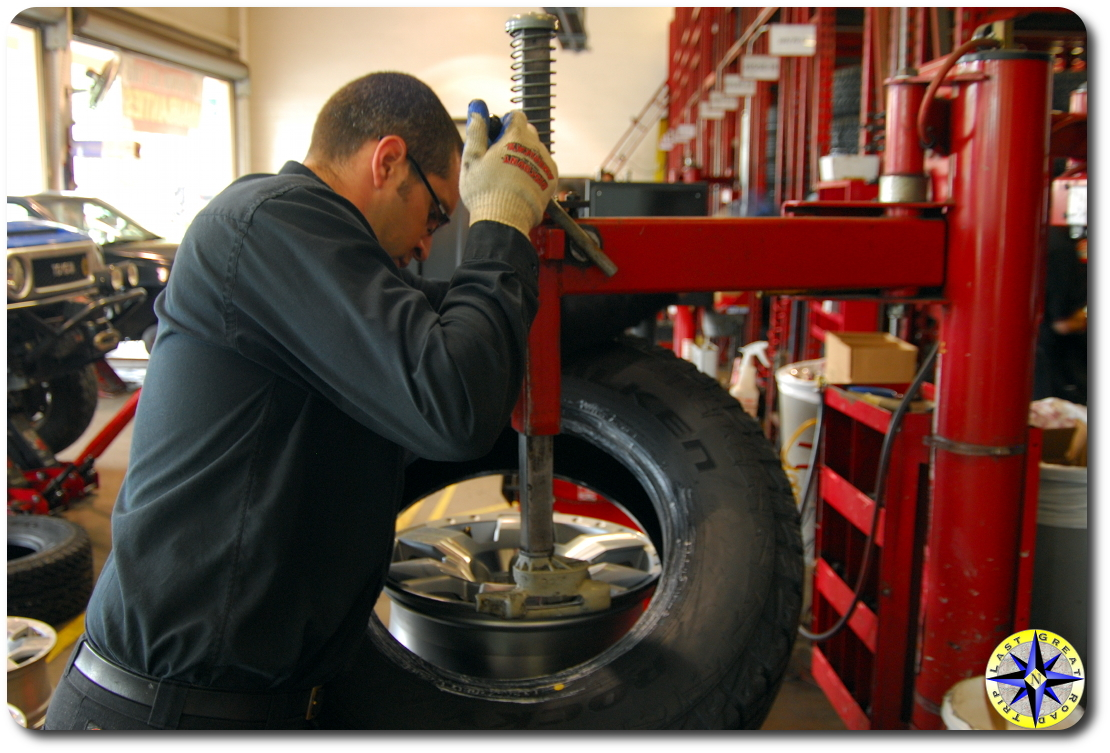 discount tire mounting