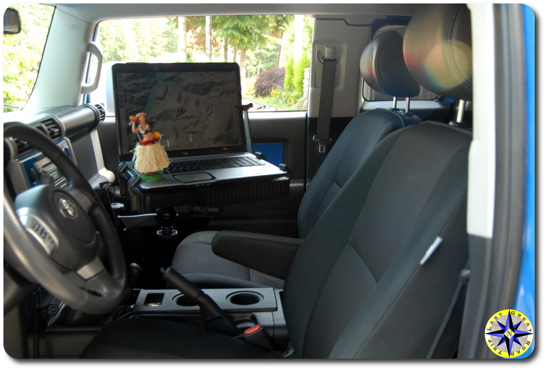 fj cruiser RAM mount laptop