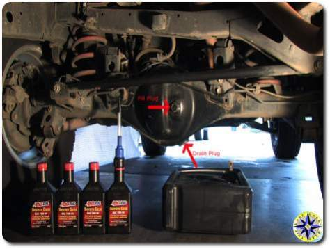 Step by Step FJ Cruiser Rear Differential Oil Change | Overland