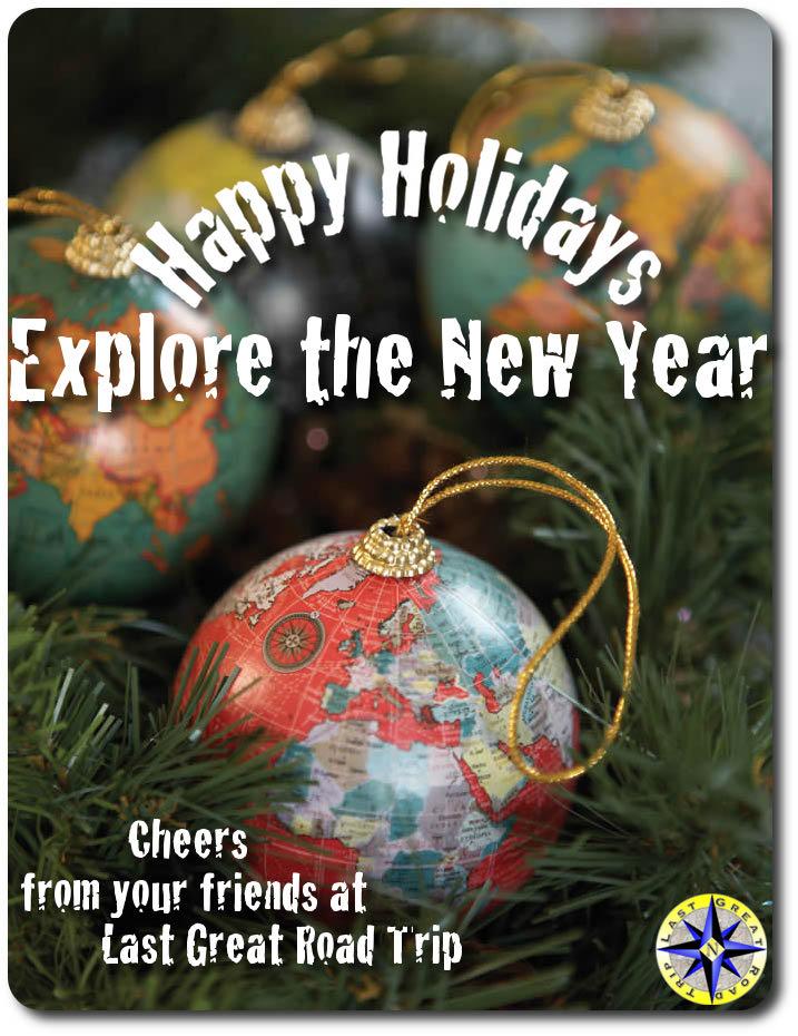 happy holidays explore the new year