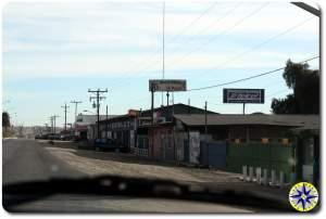baja mexico town