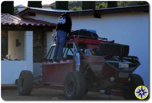 man packy baja buggy