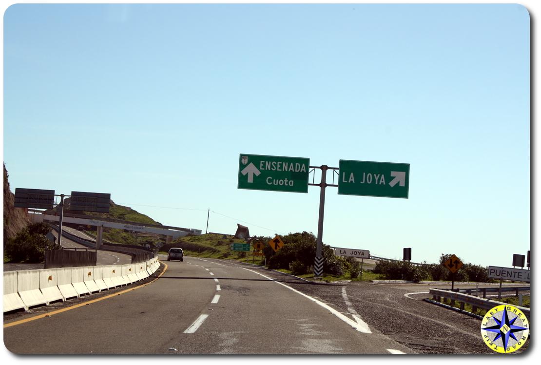 toll road to ensenada