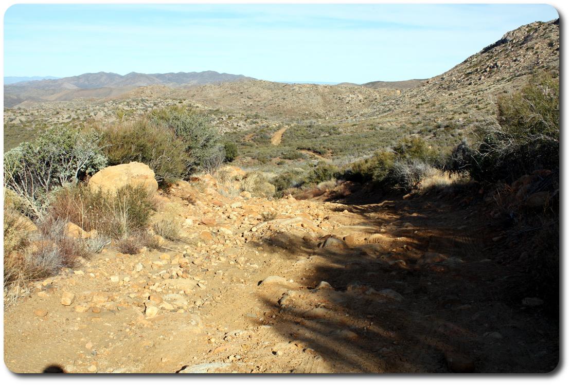 baja trail ahead