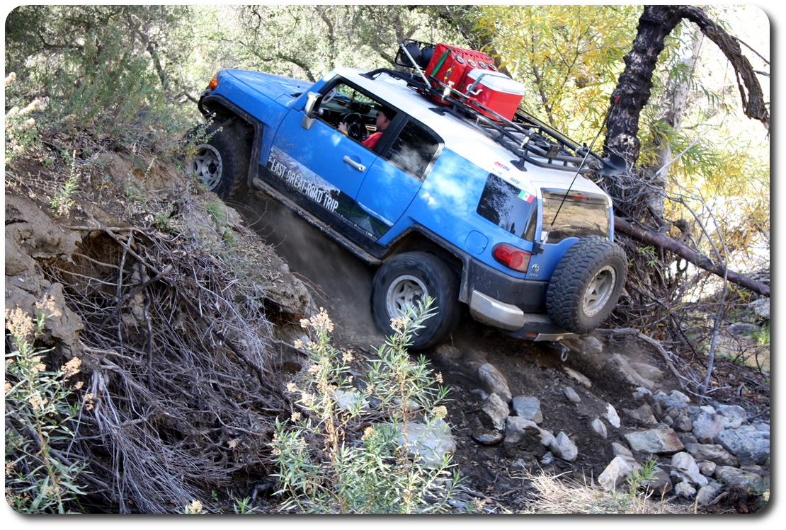 fj cruiser hill climb
