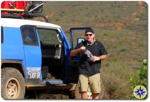fj cruiser hydration break in mexico