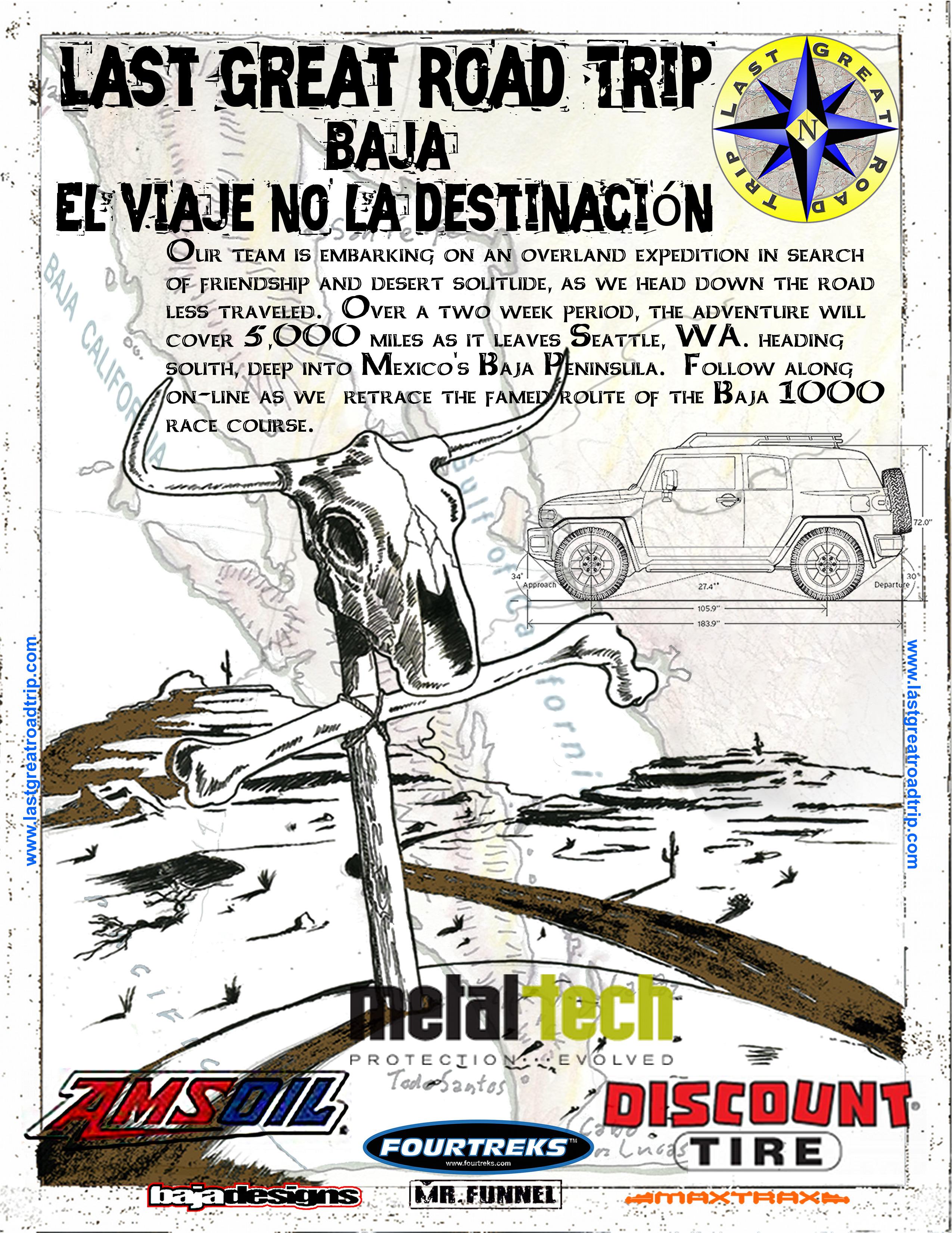 Baja Mexico Off Road Adventure Poster