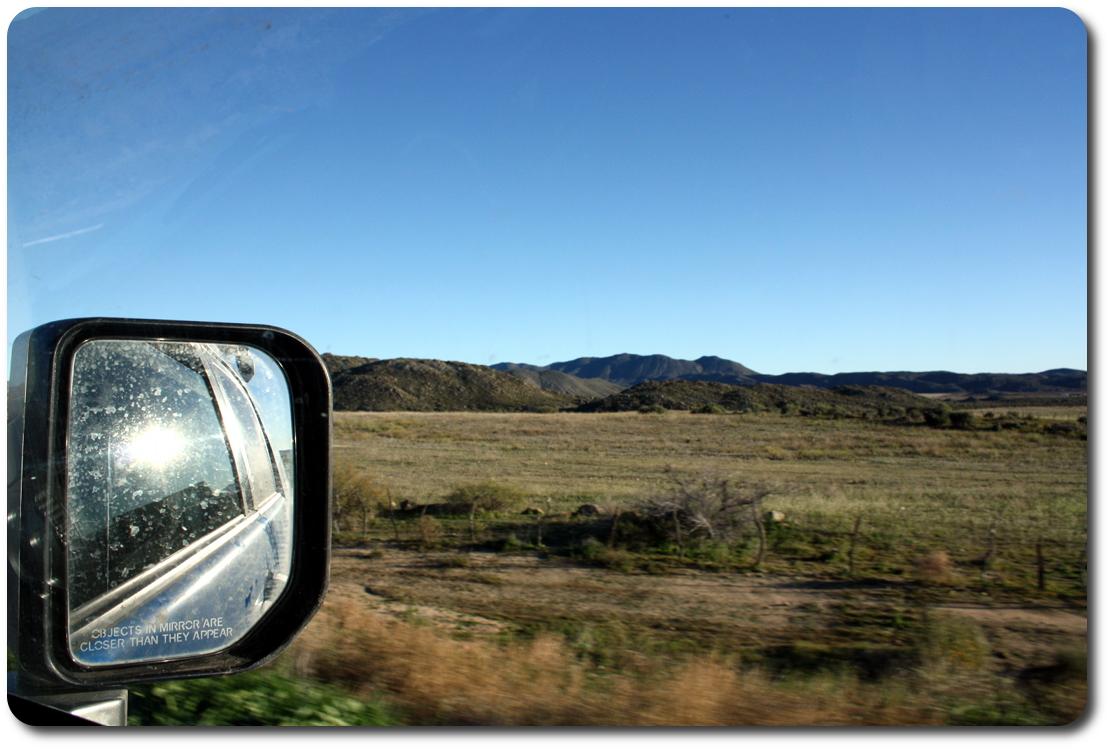 road out of ensenada