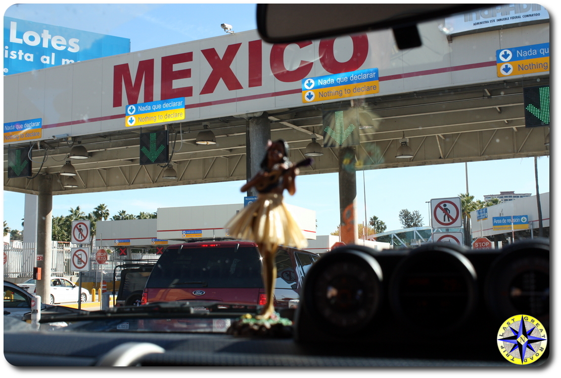 usa mexico border station