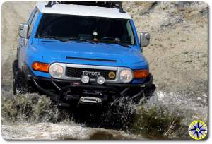 toyota fj cruiser water crossing baja mexico