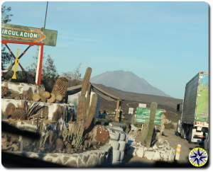 millitary checkpoint baja mexico