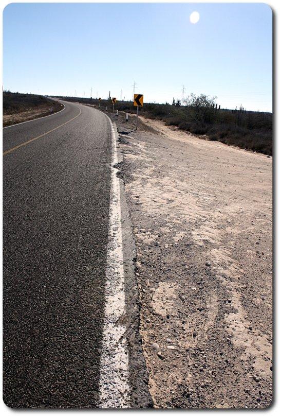 baja highway turn off