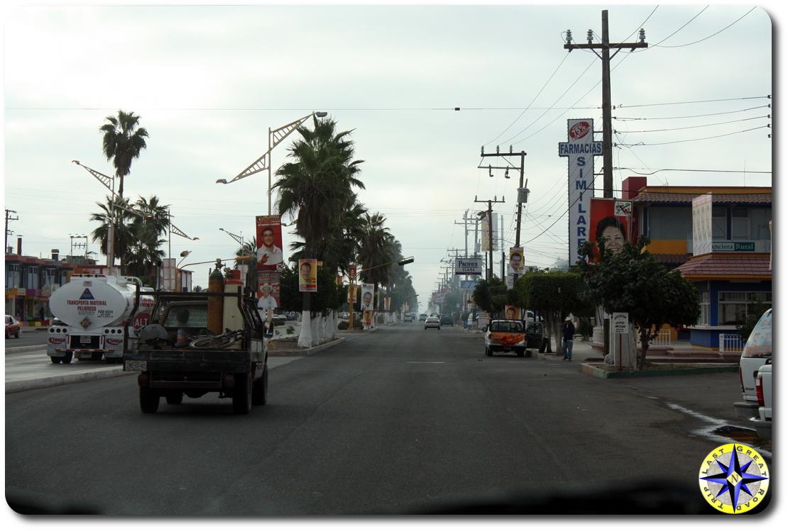 Ciudad Constitucion streets baja mexico