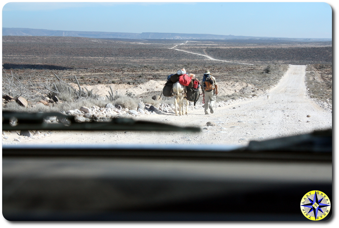 Mike Younghusband hiking baja mexico