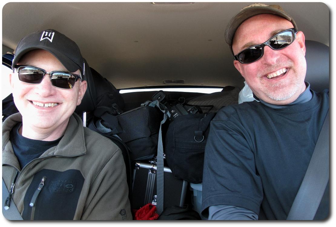 brad and me in Baja