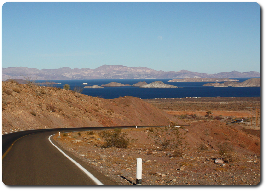 Bahía de los Ángeles arrival