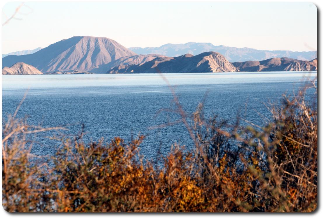 Bahía de los Ángeles bay view