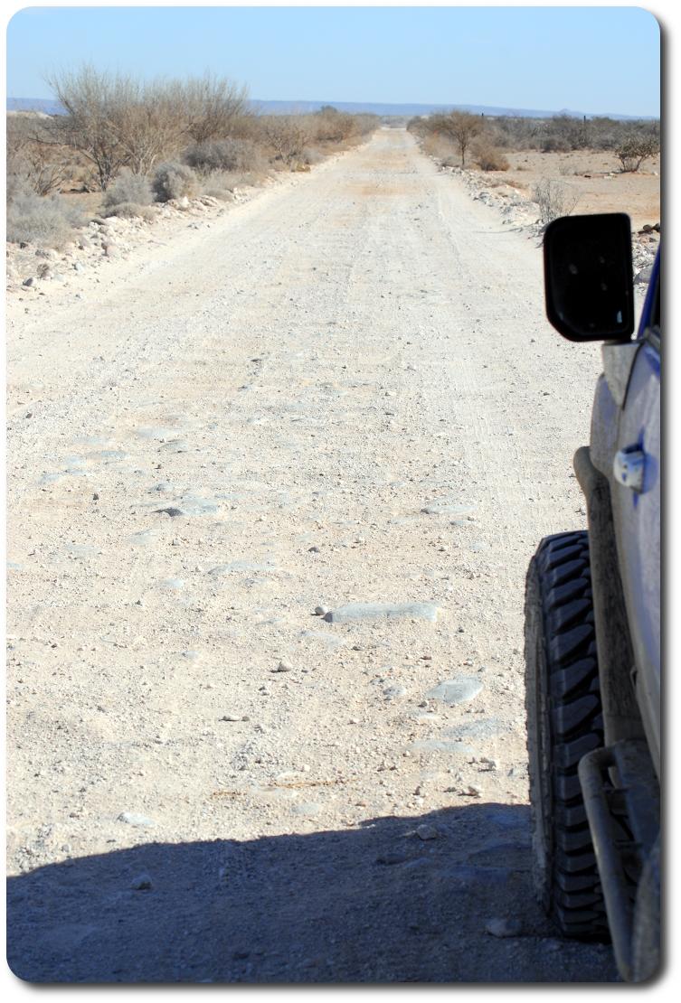 baja road ahead