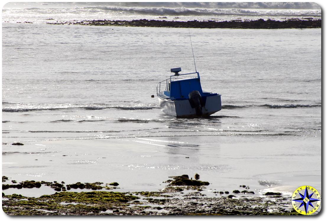 beached boat baja mexico