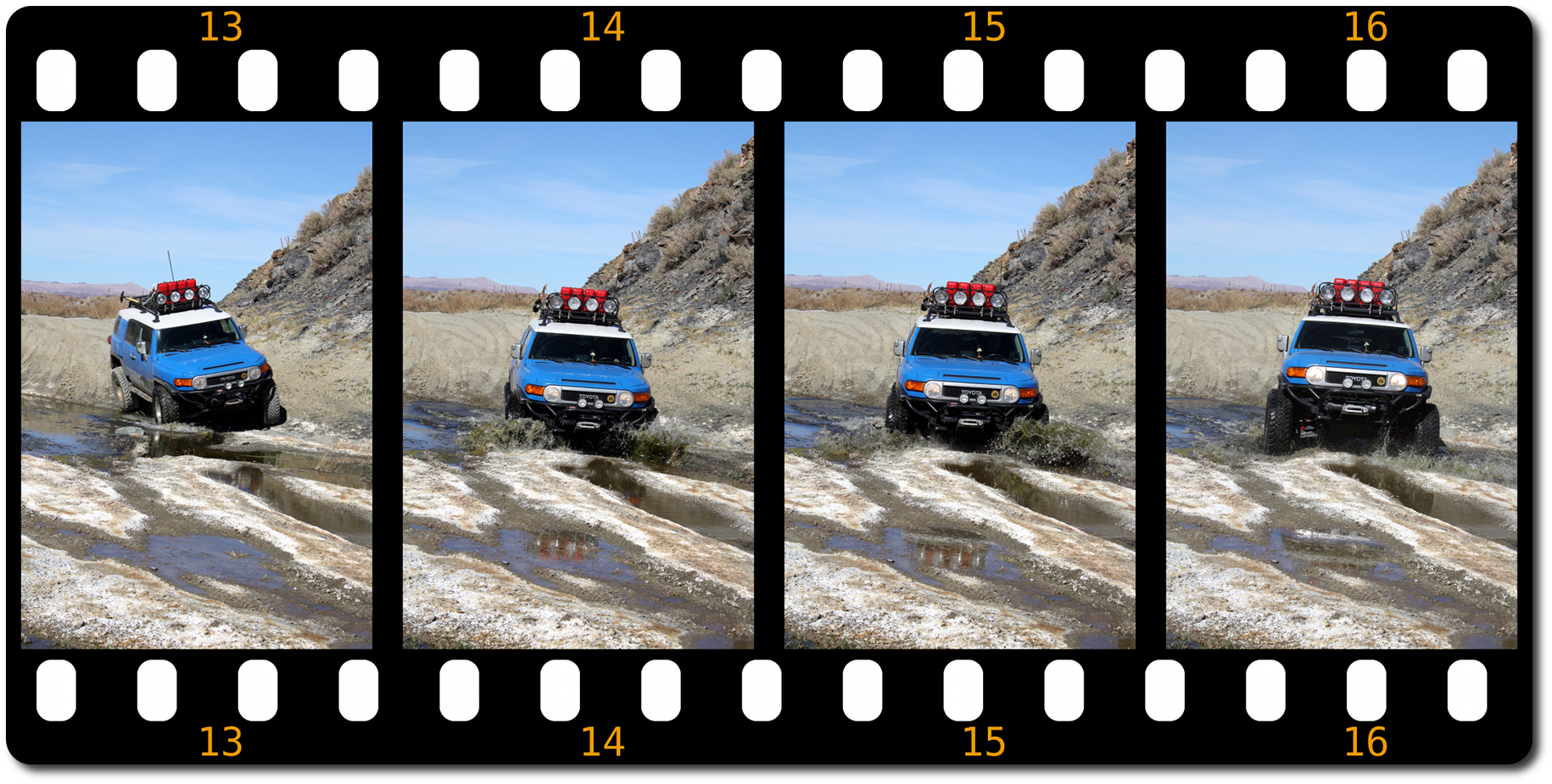 fj cruiser water fording