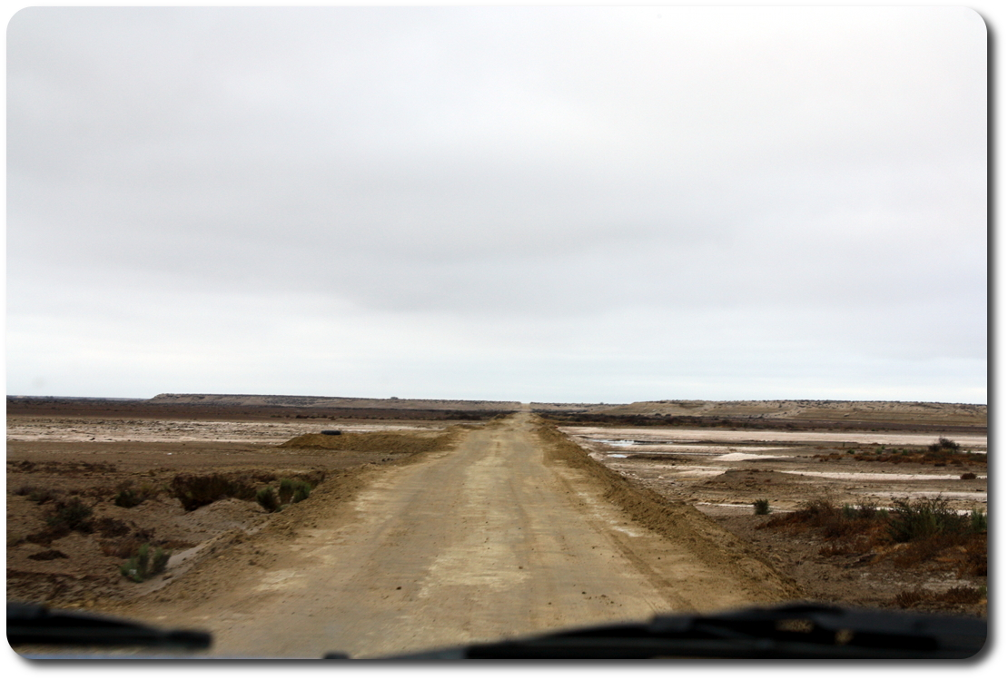 road to Scorpion Bay