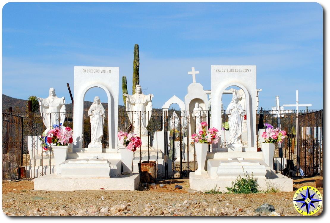 small baja mexico cemetery