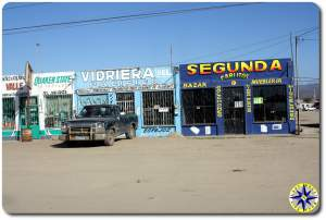 baja store fronts