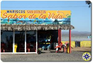 baja fish taco cafe front