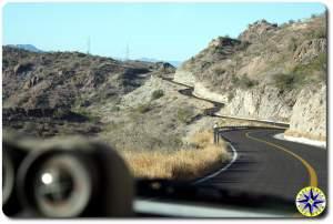 curves baja highway