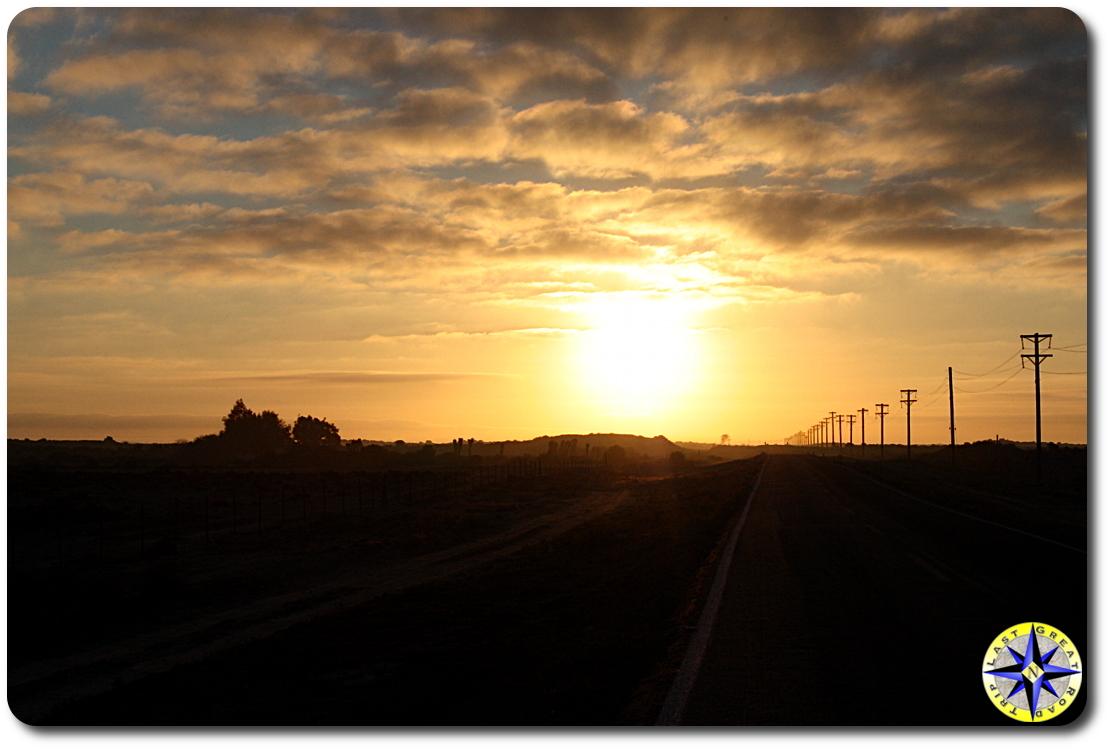 sun rise in baja