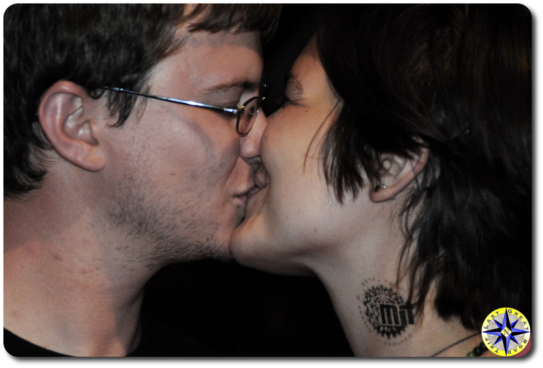 the good night kiss