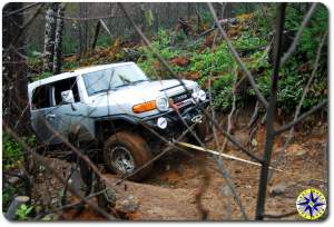 stuck fj cruiser