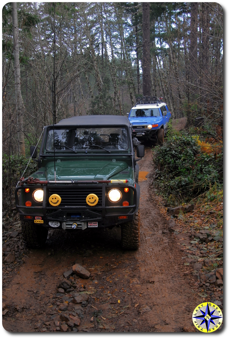 D90 and fj cruiser