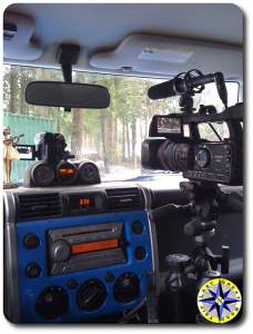 fj cruiser mobile video studio