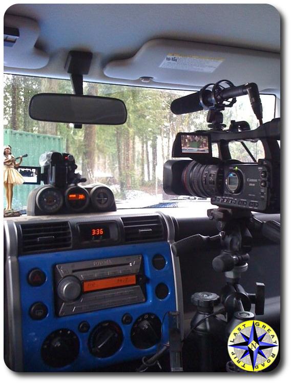 fj cruiser mobile video studio