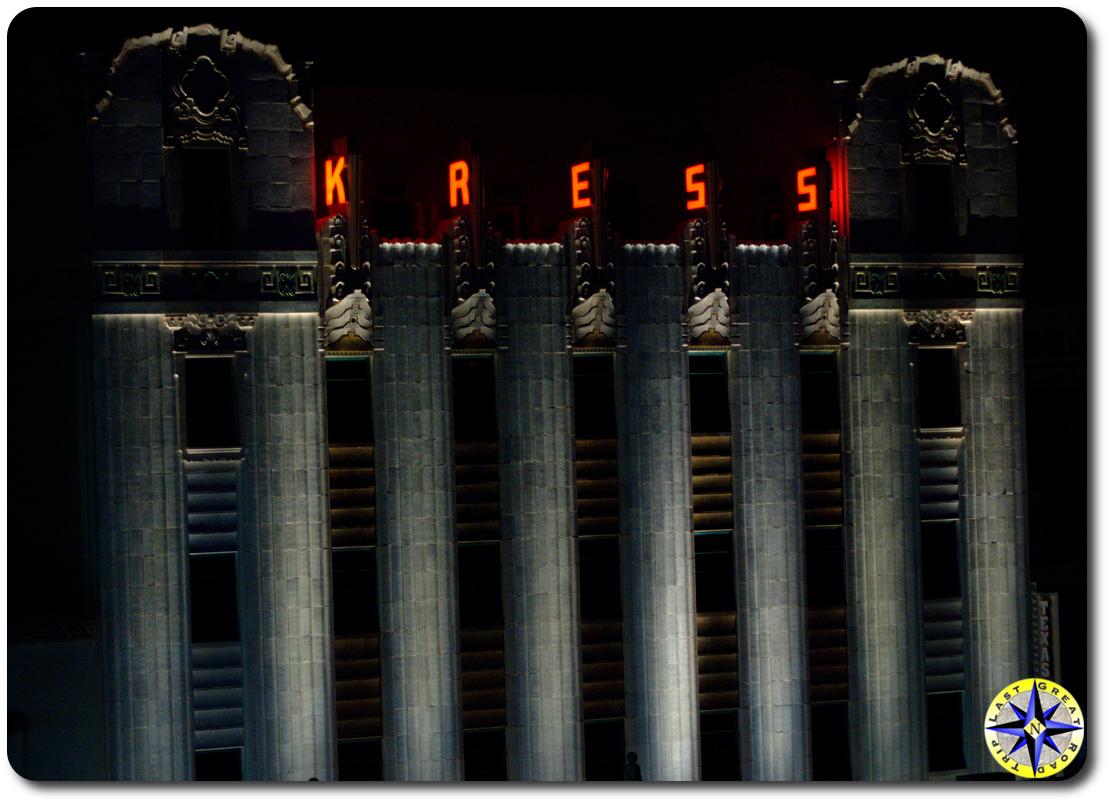 kress building san antonio texas