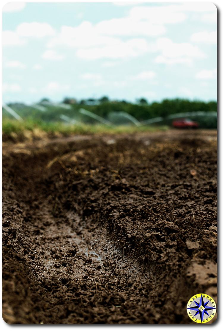 mud track