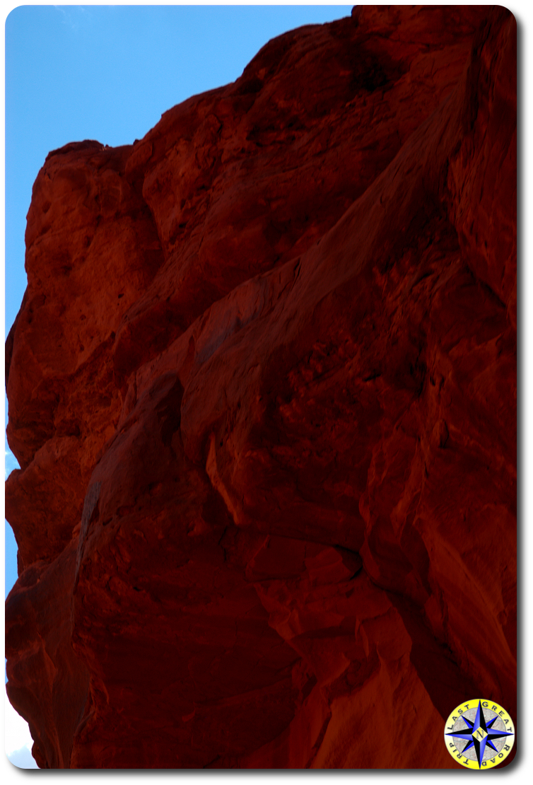 red cliff rock