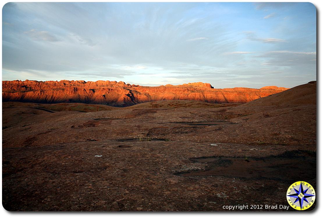 moab slick rock