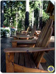 suttle lake lodge deck