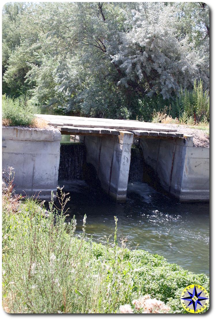 creek bridge