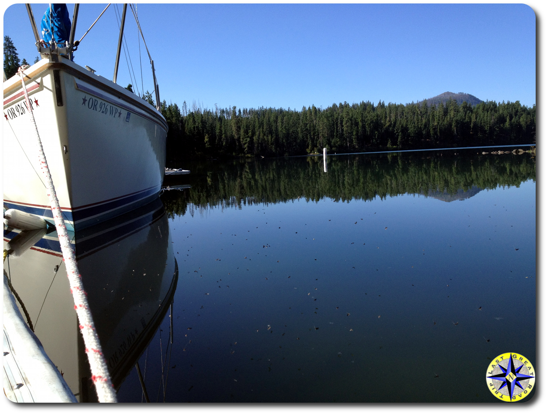 boat on suttle lake
