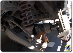 outboard drive shaft removal