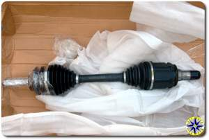 spare drive shaft